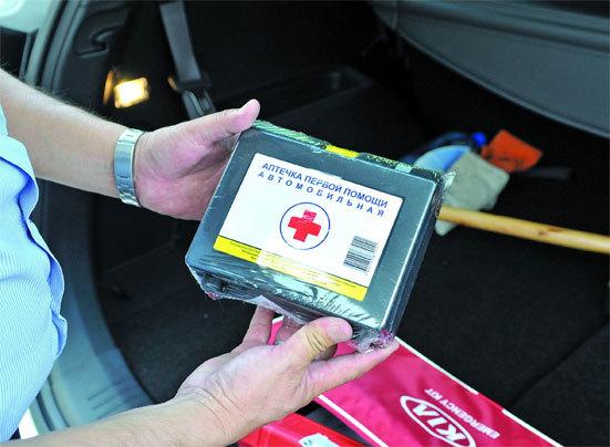 Срок годности автомобильной аптечки нового образца